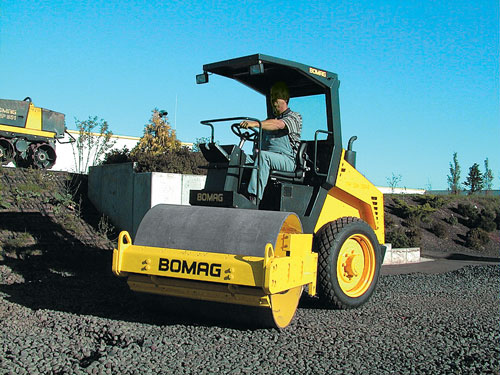 compaction roller BW177d-3