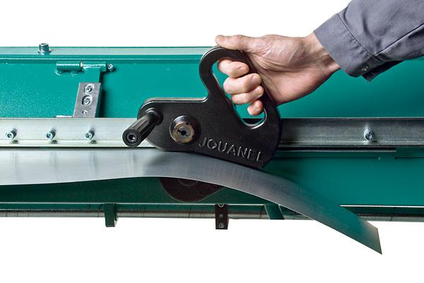 couteau pour plieuse d 39 aluminium location lou tec. Black Bedroom Furniture Sets. Home Design Ideas