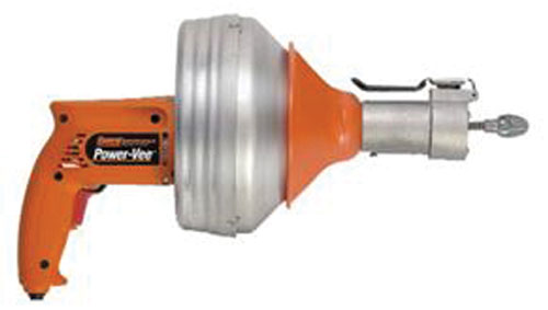 """electric drain cleaner automatic insertion 1 1/4"""" to 2 1/2"""""""