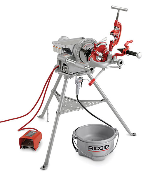 electric pipe threader ridgid 300