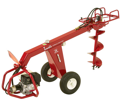 motorised auger 1 man