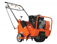 motorized lawn aerator