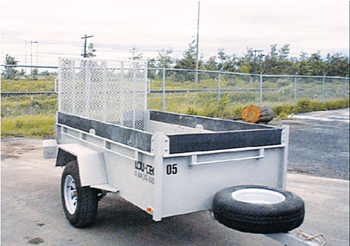 Open Deck Trailer 1 Axle