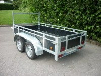 Open Deck Trailer 2 Axles