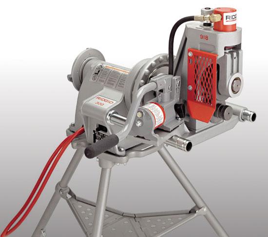 Roll Groover Hydraulic, Electric - Ridgid 918