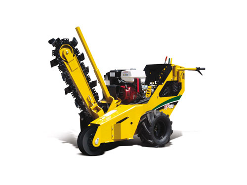 trencher traction