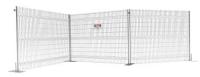 agrandi - clôtures