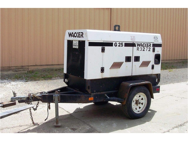 generator on trailor 7 kw