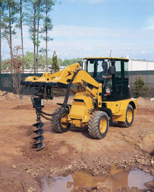 loader with auger
