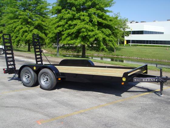 remorque plateforme capacit 10 000 lbs location lou tec. Black Bedroom Furniture Sets. Home Design Ideas