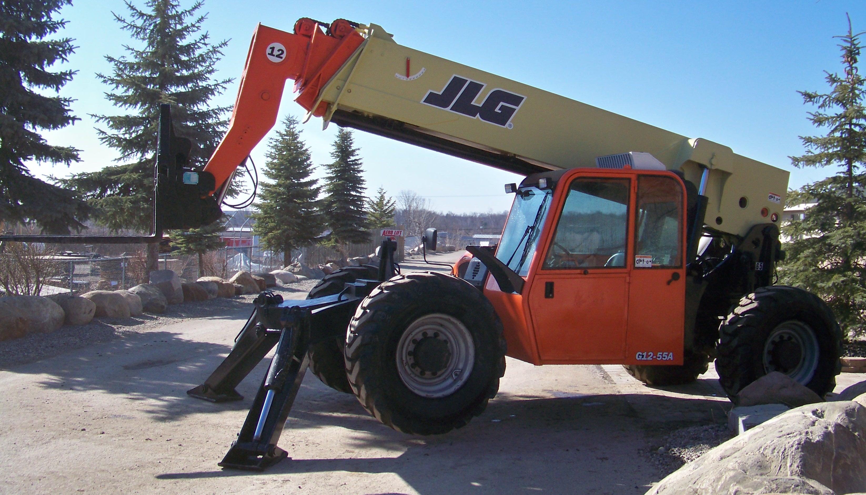 chariot-élévateur télescopique g12-55a