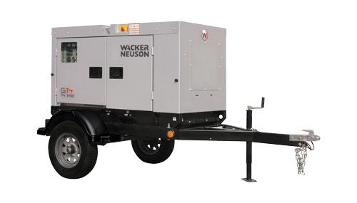 diesel generator on trailer 15 kw