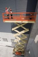 gas propane scissor lift JLG-80SL