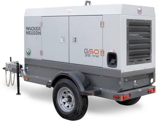 generator on trailor 30 kva